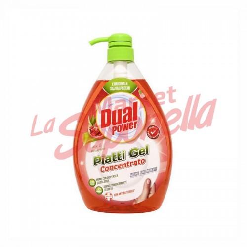Detergent de vase cu rodie si aloe Dual Power – 1000 ml